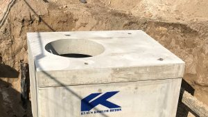 Wasserzählerschacht Betonfertigkteil