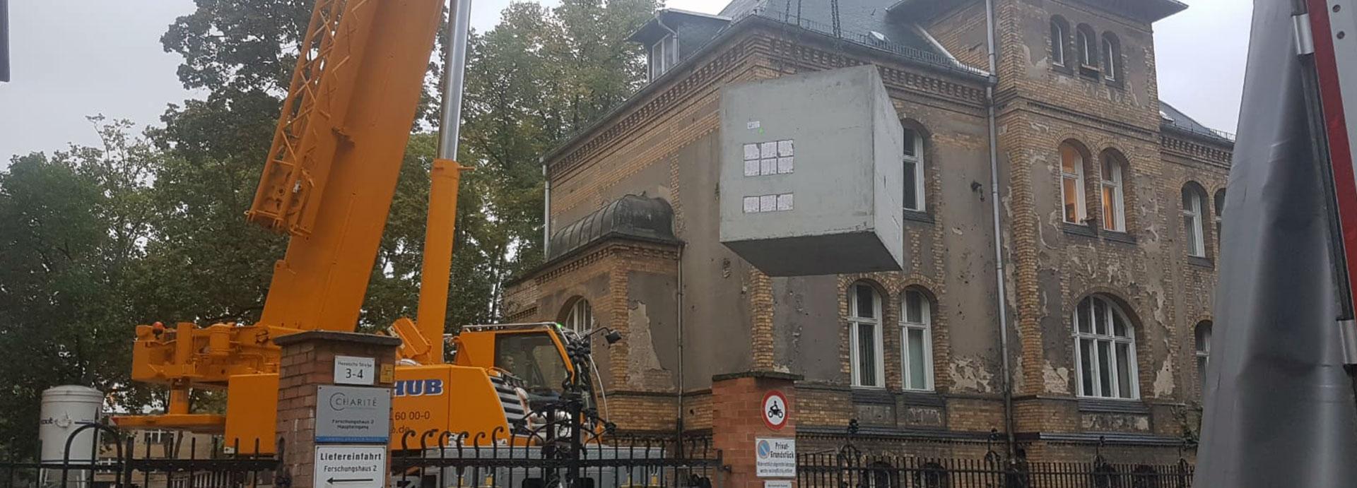 Kabelschächte für Medienanbindung in Berlin