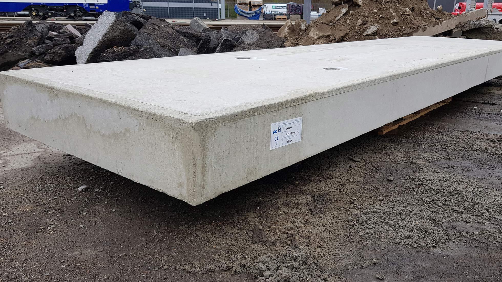 Stahlbetonplatten von Köhler Beton