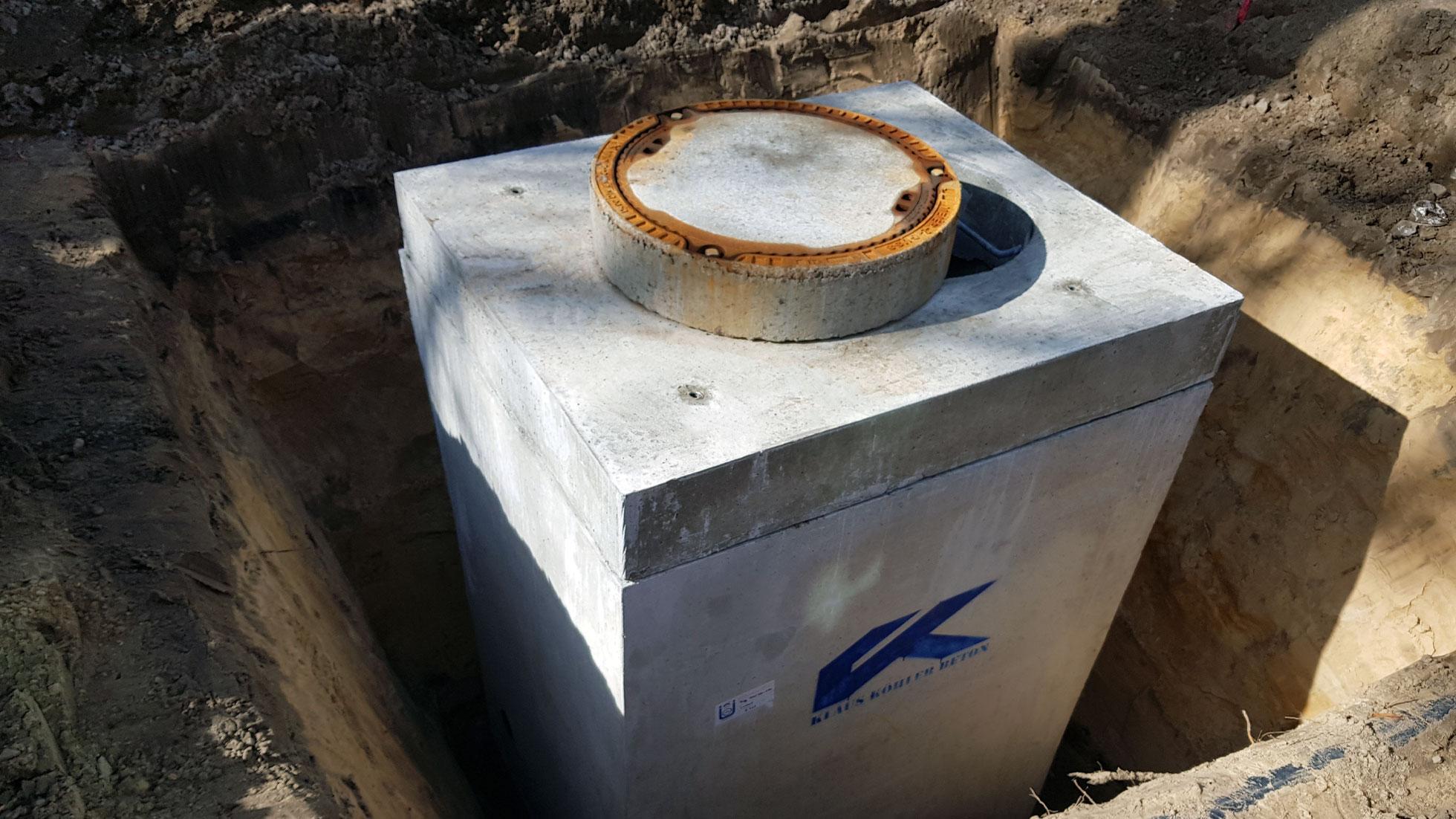 Betonfertigteil Wasserzählerschacht