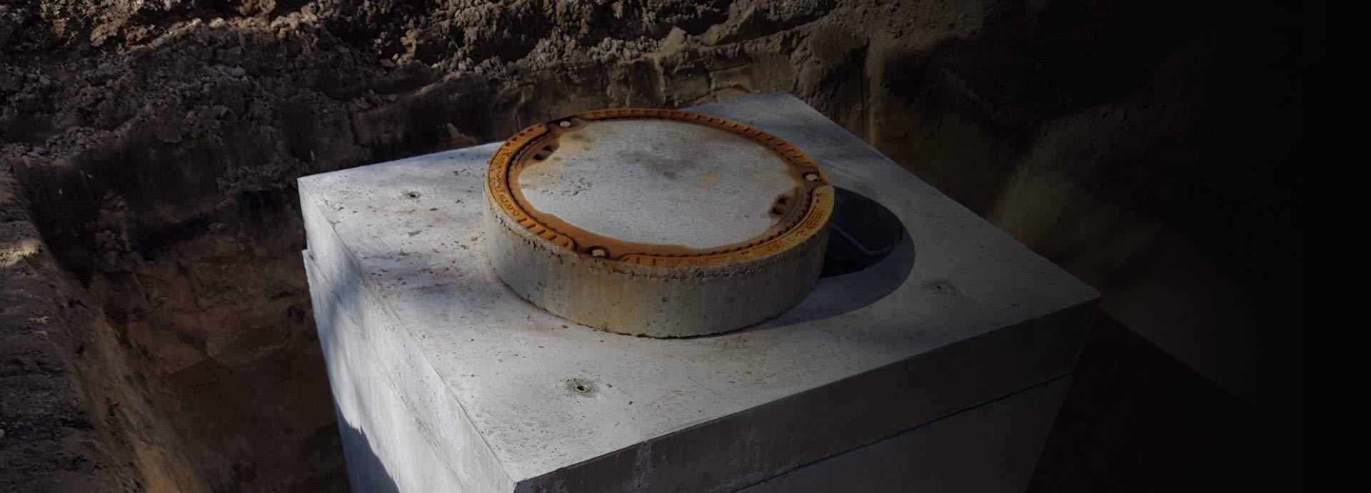 Wasserzählerschacht aus dem System Köhler